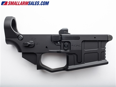 radian weapons ax556 ambidextrous ar15 lower receiver black